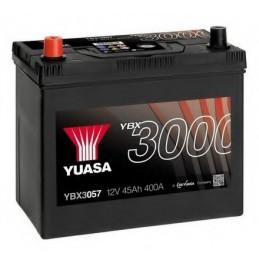 Yuasa YBX3057 12V 45Ah 400CCA SMF käivitusaku