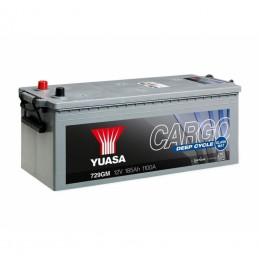 Yuasa 729GM 12V 185Ah 1100CCA Cargo Deep Cycle Glass Mat
