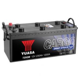 Yuasa 732GM 12V 220Ah 1400CCA Cargo Deep Cycle Glass Mat