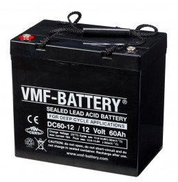 VMF AGM Deep Cycle 12V 60Ah(20h)