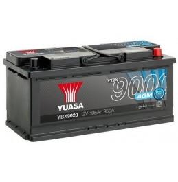Yuasa YBX9020 12V 105Ah 950CCA AGM Start Stop Plus