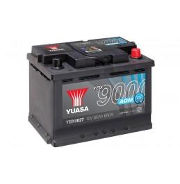 Yuasa YBX9027 12V 60Ah 680CCA AGM Start Stop Plus