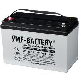 Püsitoiteaku VMF AGM Deep Cycle 12V 125Ah(20h)