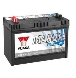 Paadiaku Yuasa M31-100 12V 100Ah 600CCA pliiaku