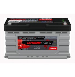 INTACT LITHIUM-POWER LI-1200, 105Ah 1344Wh LiFePO4