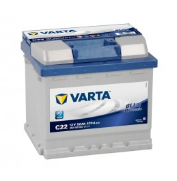 Varta Blue C22 52Ah 470A