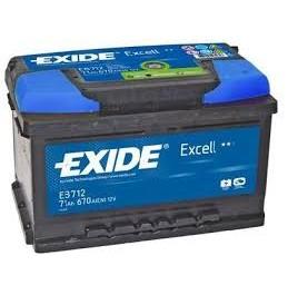 EXIDE AKU  EB712 Excell