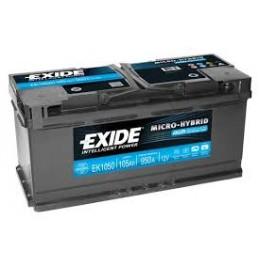 EXIDE AGM EK1050 12V 105Ah