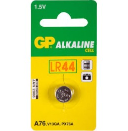 GP A76 (S357)/LR44 patarei