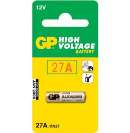 GP 27A 12V Patareid