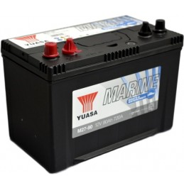 Paadiaku Yuasa M27-90 12V 90Ah 720CCA pliiaku
